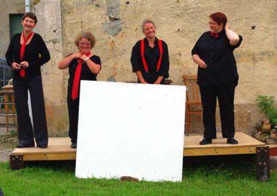 La Compagnie «Toujours Rêvé des Tracteurs» – Lectures -Théâtre